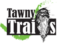 Tawny Trails Logo for the tawny trails website.